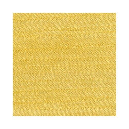 Тесьма декоративная Gamma шелковая, 25 мм, 9,1 +/- 0,5 м, № 021, цвет желтый (SR-25)