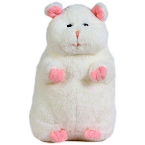 Купить Мягкая игрушка Хомяк 20см белый, Lapkin, Мягкие игрушки