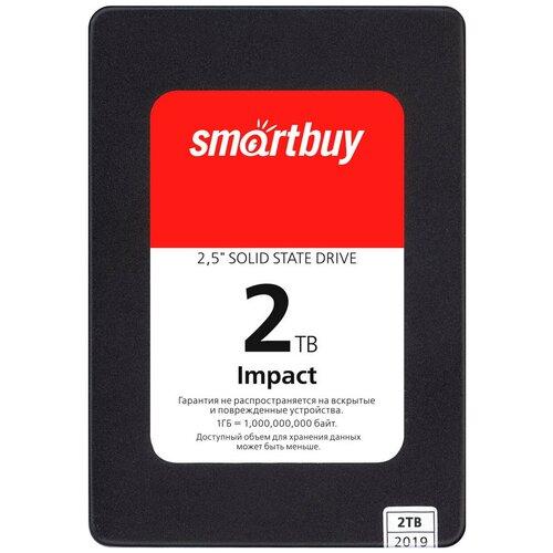 Твердотельный накопитель SmartBuy 2048 GB Impact 2 TB (SBSSD-002TT-PH12-25S3)