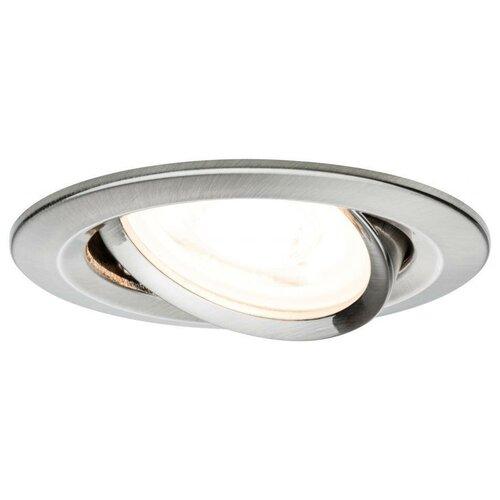 Фото - Встраиваемый светильник Paulmann 93652, 3 шт встраиваемый светильник paulmann 92521 3 шт