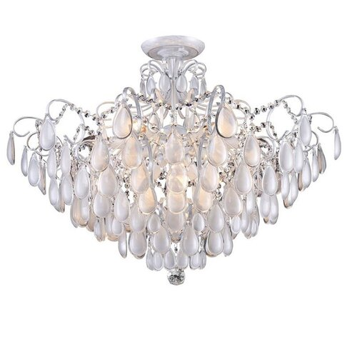 Фото - Люстра Crystal Lux Sevilia PL9 Silver, E14, 540 Вт подвесная люстра crystal lux sevilia sp9 silver
