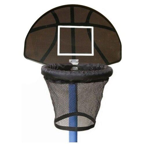 Баскетбольное кольцо для батута DFC BAS-H черный/коричневый