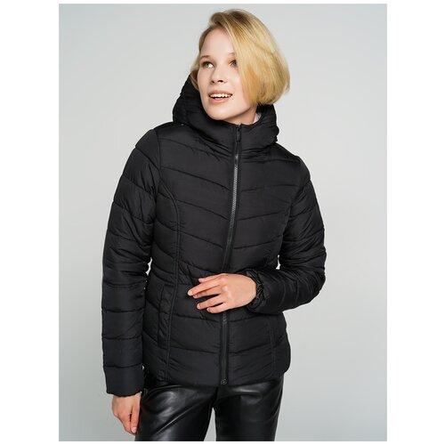 Куртка на синтепоне ТВОЕ A6567 размер XS, черный, WOMEN