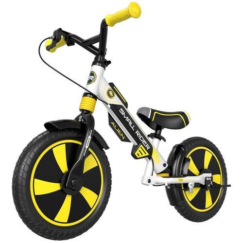 Фото - Беговел Small Rider Roadster Pro 5 EVA, желтый/черный беговел 700kids a1 сompetitive small scooter черно желтый cr02a