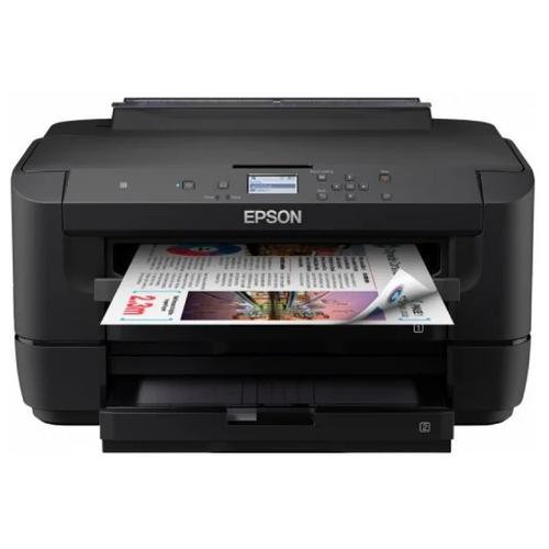 Фото - Принтер Epson WorkForce WF-7210DTW, чёрный компактный фотопринтер epson workforce wf 100w