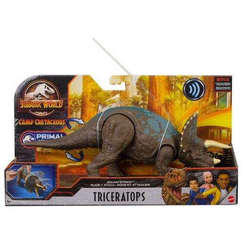 Купить Фигурка Mattel Jurassic World Трицератопс GVH66, Игровые наборы и фигурки