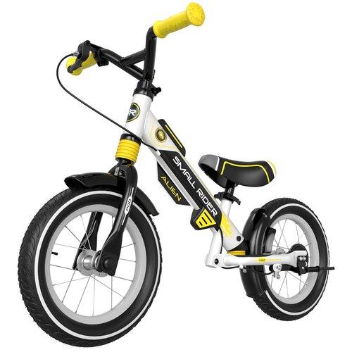 Фото - Беговел Small Rider Roadster Pro 5 AIR, желтый/черный беговел 700kids a1 сompetitive small scooter черно желтый cr02a
