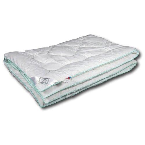 Фото - Одеяло АльВиТек Эвкалипт-Люкс, теплое, 172 х 205 см (белый) одеяло альвитек холфит комфорт теплое 172 х 205 см белый розовый