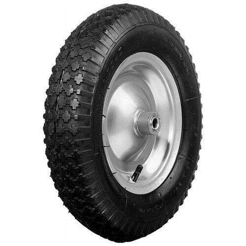 Фото - Колесо для тачки SIBIN пневматическое (39910-2) 380 мм колесо для тачки зубр 380х16мм полиуретановое 39912 2