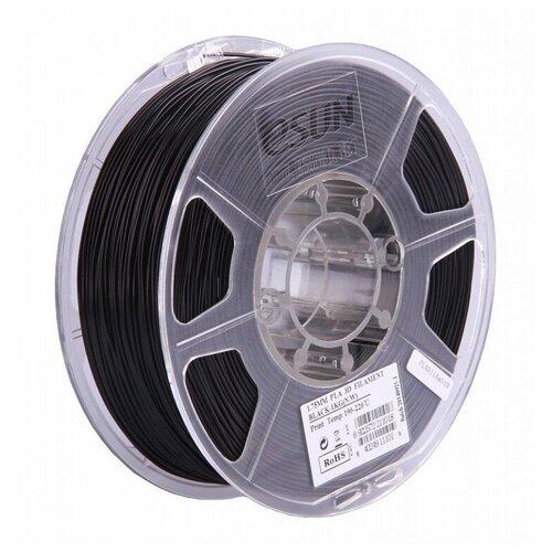 PLA пруток ESUN 1.75 мм черный 1 кг