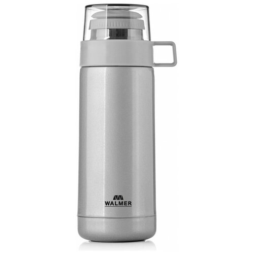 Классический термос WALMER Power, 0.35 л серый металлик
