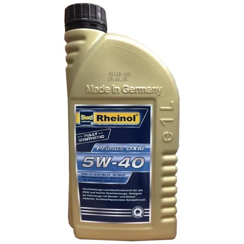 Синтетическое моторное масло Rheinol Primus DXM 5W-40 1 л