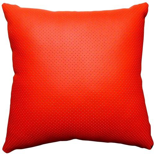 Подушка декоративная Тематика 30 х 30 см красный/черный
