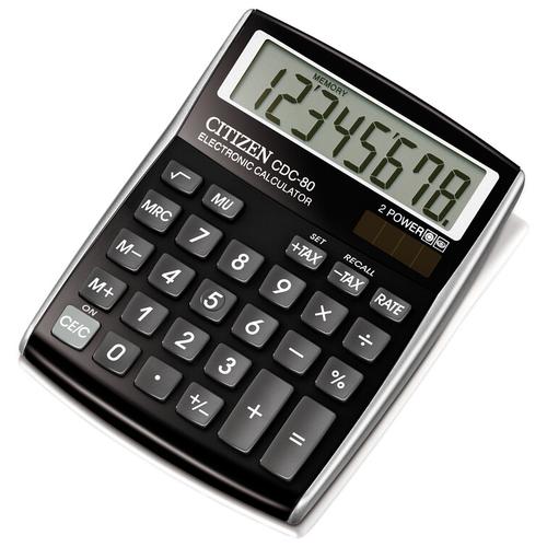 Калькулятор CITIZEN CDC-80 черный