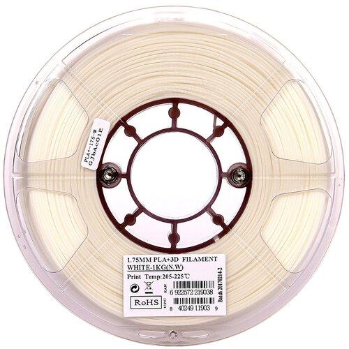 Фото - PLA+ пруток ESUN 1.75 мм, 1 кг, белый pla пруток esun 1 75 мм желтый 1 кг