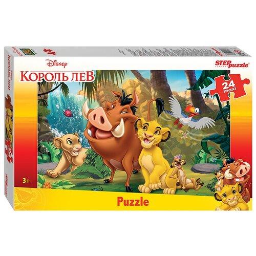 Пазл Step puzzle Maxi Король Лев (90053), 24 дет. пазл step puzzle король лев 96079 360 дет