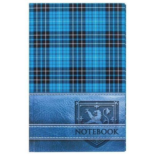 Купить Блокнот А5 (135х206 мм), 96 л., твердый переплет, ламинированная обложка, клетка, BRAUBERG, Шотландка , 123248, Блокноты