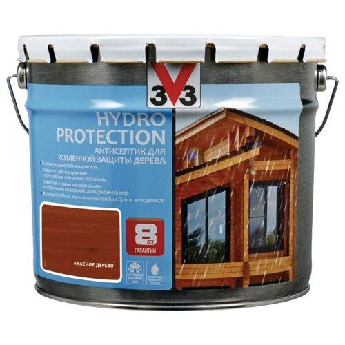 V33 Hydro Protection красное дерево 9 л