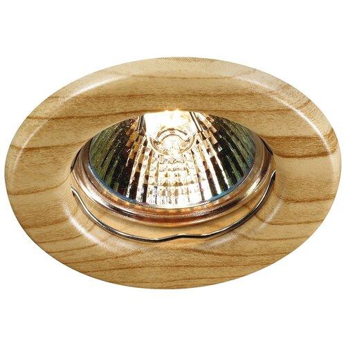 Встраиваемый светильник Novotech Wood 369713 встраиваемый светильник novotech wood 369717