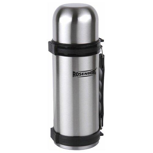 Классический термос ROSENBERG RSS-420015, 1 л серебристый