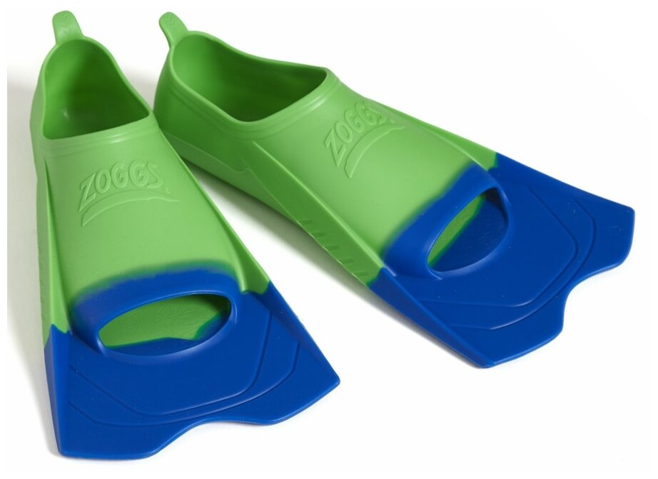 Ласты с закрытой пяткой Zoggs Ultra Blue Fins