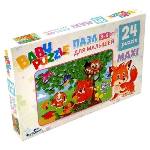 Купить Пазл Origami Собираем ягоды (02984), 24 дет., Пазлы