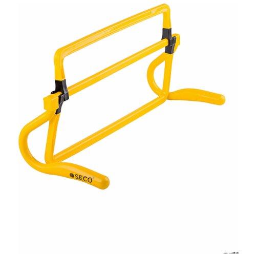 Раскладной барьер для бега SECO желтого цвета