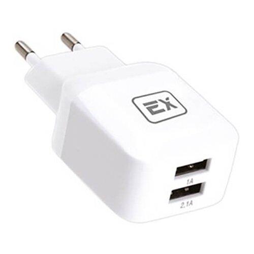 Фото - Зарядное устройство Exployd Classic 3.1A 2хUSB White EX-Z-613 зарядное устройство exployd classic 3 1a 2хusb type c white ex z 595