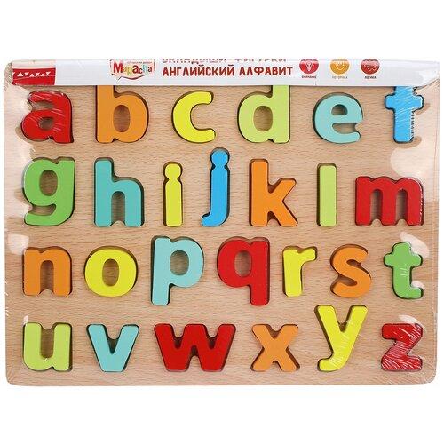 Рамка-вкладыш Mapacha Английский алфавит (76762), 26 дет. недорого