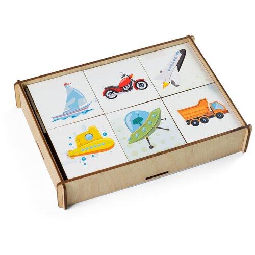Купить Настольная игра Сибирские игрушки Мемори Транспорт, Настольные игры