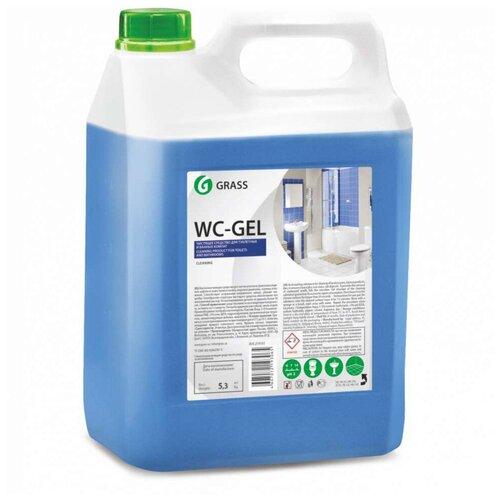 Фото - Grass гель для чистки сантехники WC-gel, 5.3 кг grass гель универсальный dos gel 5 3 кг