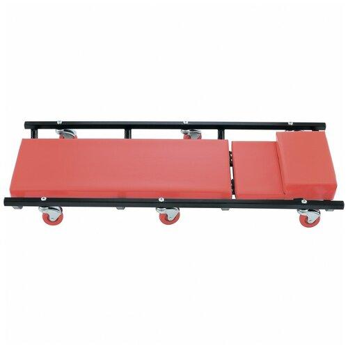 Лежак ремонтный (на колесах, закатываться под днище) matrix 567455 по цене 4 750