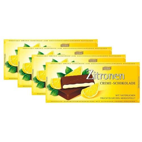 Темный шоколад BOHME с лимонной начинкой (62%), 4шт x 100г gernot bohme ethics in context