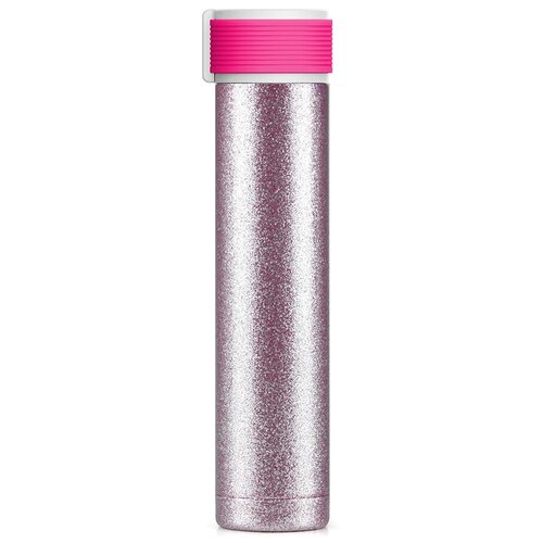 Термобутылка Asobu Skinny Glitter, 0.23 л purple
