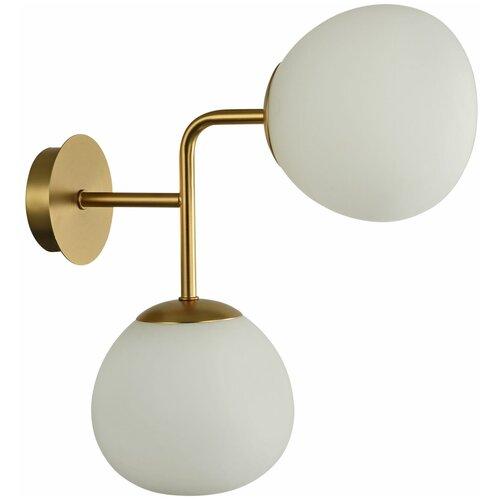 Настенный светильник MAYTONI Erich MOD221-WL-02-G, 80 Вт настенный светильник maytoni erich mod221 wl 02 g 80 вт