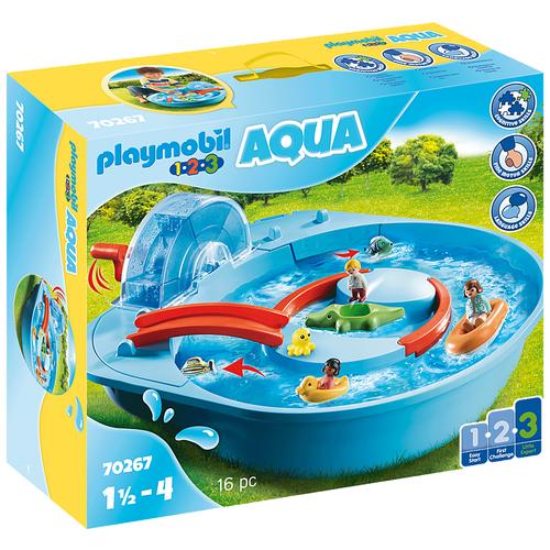 Конструктор Playmobil 1-2-3 70267 Аквапарк