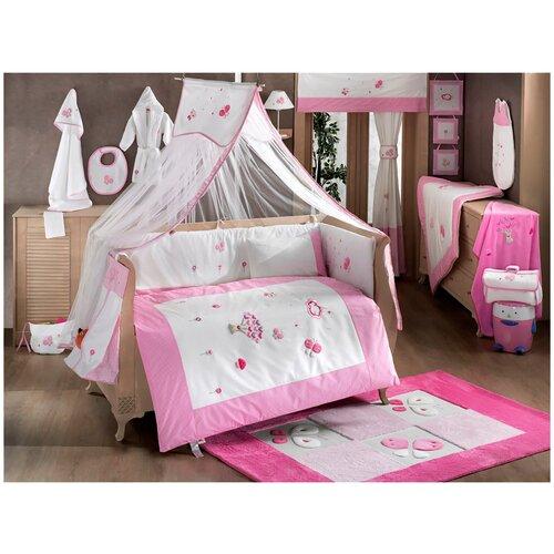 Купить Комплект Kidboo из 6 предметов серии Funny Dream (Pink), Постельное белье и комплекты