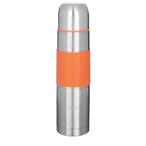 Классический термос Satoshi Kitchenware 841-634, 0.75 л серебристый/оранжевый