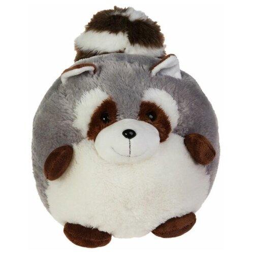 Мягкая игрушка Gulliver Пушистый хвостик Енотик 30 см мягкие игрушки gulliver пушистый хвостик лисичка 30 см