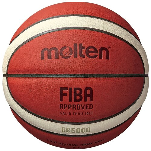 Мяч баскетбольный MOLTEN B7G5000, р.7, FIBA Appr