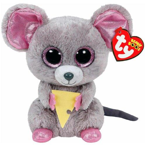 Мягкая игрушка TY Beanie boos Мышонок Squeaker 15 см