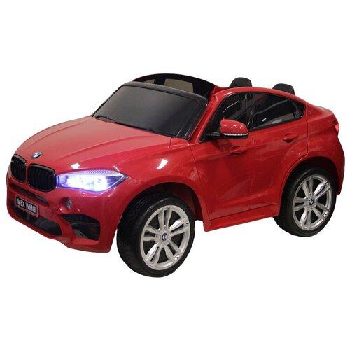 RiverToys Автомобиль BMW X6M, red