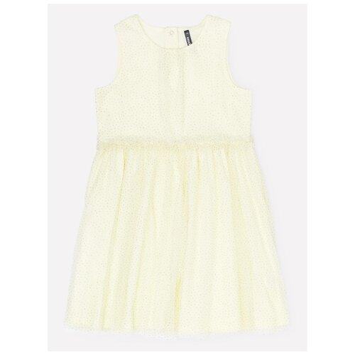 Платье crockid размер 110, бледно-лимонный к279 платье optop размер 110 бледно желтый бабочки