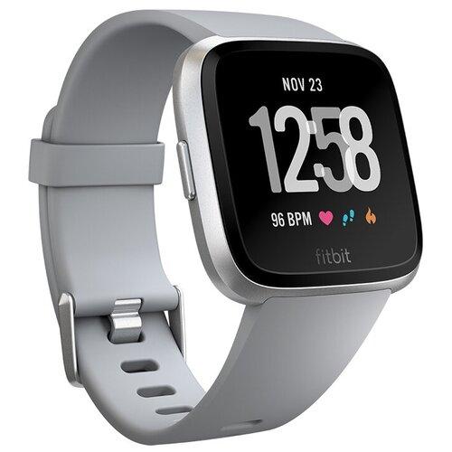 Умные часы Fitbit Versa, gray/silver