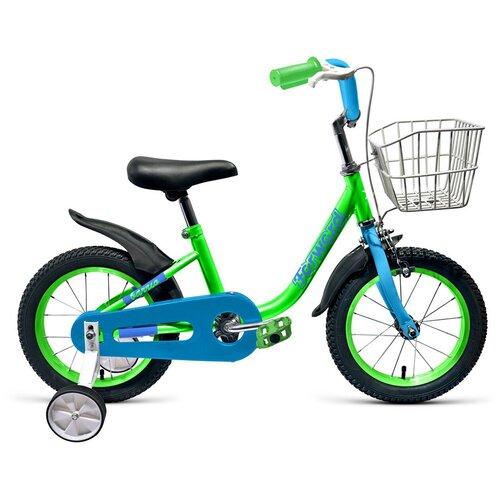 Фото - Детский велосипед FORWARD Barrio 14 (2019) зеленый (требует финальной сборки) детский велосипед forward barrio 18 2020 красный требует финальной сборки