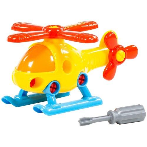 Конструктор Полесье Транспорт 76663 Вертолет (в сеточке) конструктор полесье космос 81995
