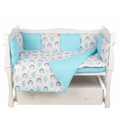 Купить Комплект в кроватку 15 предметов (3+12 подушек-бортиков) AmaroBaby, Постельное белье и комплекты