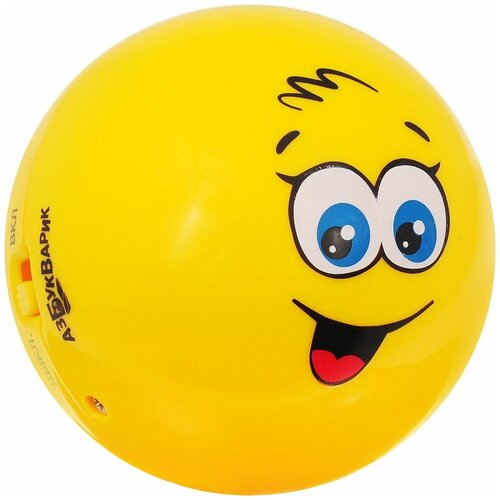Фото - Интерактивная развивающая игрушка Азбукварик Веселый колобок, желтый музыкальная интерактивная игрушка часики веселый кеша тм азбукварик