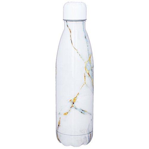 Термобутылка Agness 709-078, 0.5 л белый