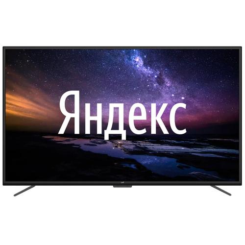 Фото - Телевизор Leff 75U520S 75 (2021) на платформе Яндекс.ТВ, черный телевизор leff 32h111t белый